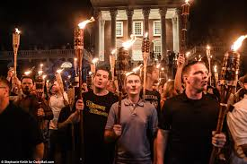 alt-right marchers